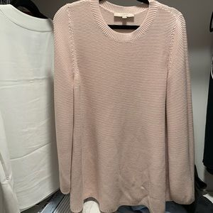 Loft light pink sweater